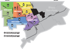 Detroit Service Areas