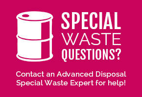 special waste services