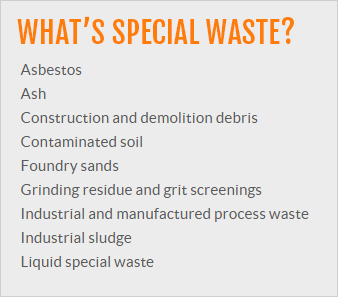 What is Special Waste Callout