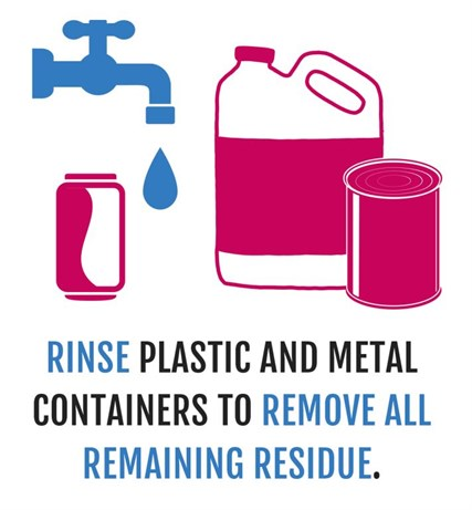 Rinse Containers