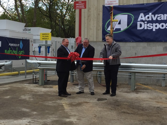 Hartland CNG ribbon cutting