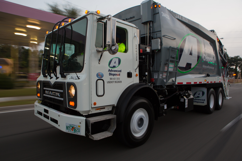 Advanced Disposal Truck Photos