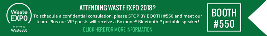 Waste Expo 2018 Callout